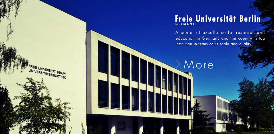Freie Universität Berlin / GERMANY / A center of excellence for research and education in Germany and the country's top institution in terms of its scale and quality